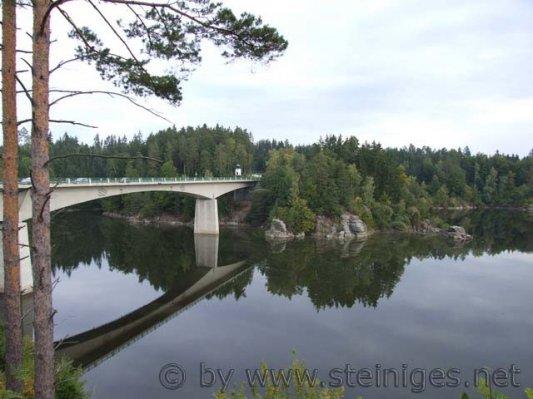 Purzelkampbrücke - Stausee Ottenstein